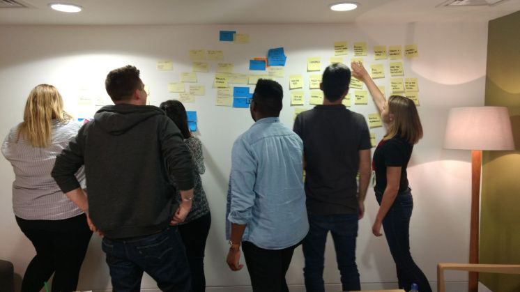 How can we group content in order to deliver relevant content to the correct user groups?