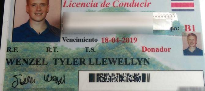 Getting a Costa Rican Driver's License