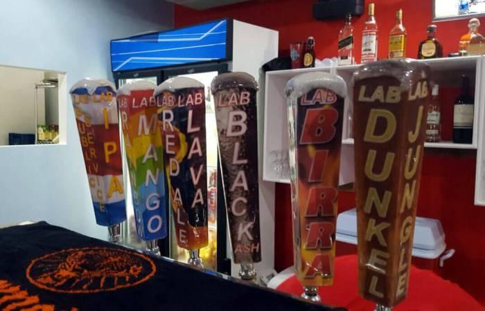 Lake Arenal Brewery Tap Handles