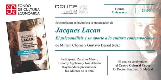 Invitación Jacques Lacan