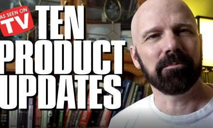 Updates on my First TEN As Seen on TV Product Reviews