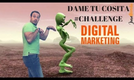 Dame tu Cosita CHALLENGE ¡Es momento de esta Acción de Marketing!
