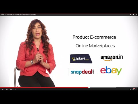 What is E-commerce? (Simple with Examples and pictures) – ECOMMERCE