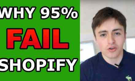 WHY 95% OF SHOPIFY STORE OWNERS FAIL WITH ECOMMERCE DROP SHIPPING (The Truth)