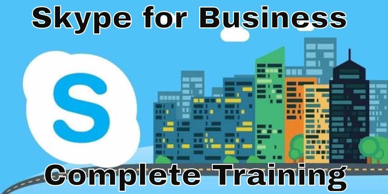 Skype For Business Essential Training [Complete] Lynda.com Tutorial