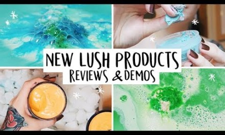NEW Lush Product Reviews & Demos ✨ft. Jelly Bombs & Face Masks!