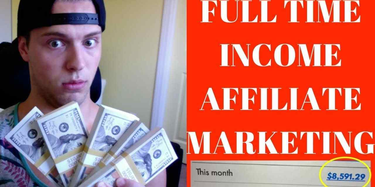 How I Make $10,000/Month Affiliate Marketing With NO Experience Or Money