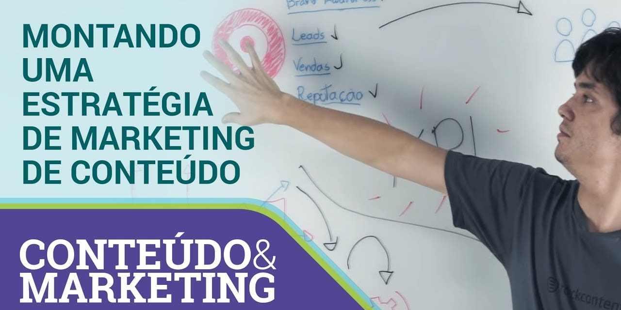 Montando uma estratégia de marketing de conteúdo – Conteúdo e Marketing