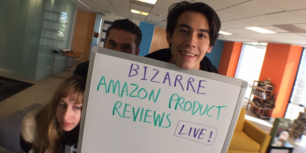 Bizarre Amazon Product Reviews LIVE!
