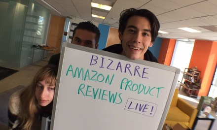 Bizarre Amazon Product Reviews LIVE!