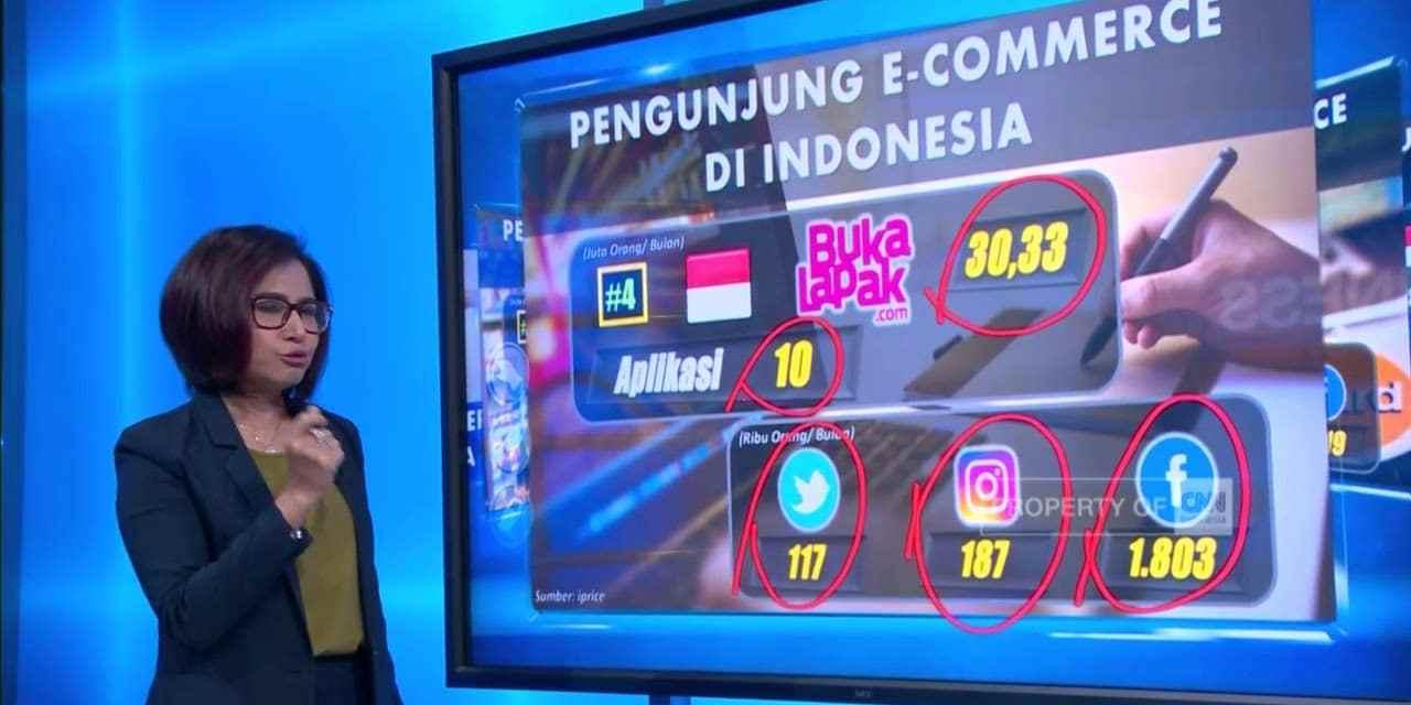 Raja E-Commerce Indonesia; Lazada , Blibli.com , Bukalapak.com , Tokopedia atau Elevania