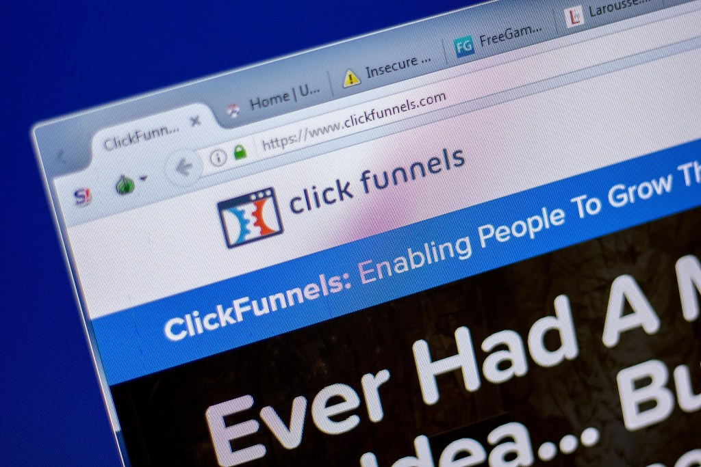 Click Funnels for Physical Products