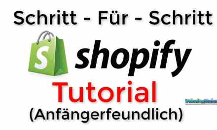 Shopify Store Tutorial für ANFÄNGER | Deutsch | German