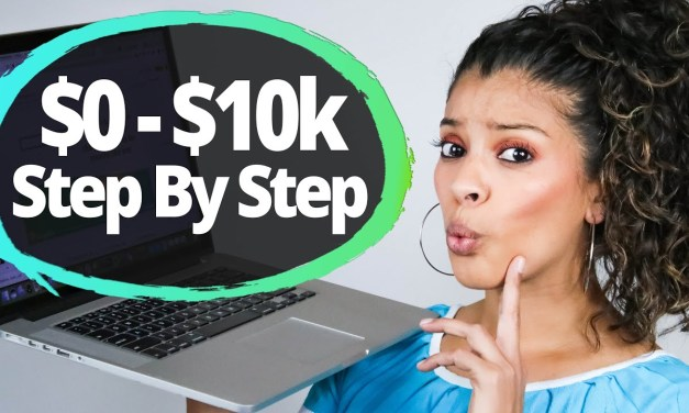 From $0 To $10,000 with Affiliate Marketing for Beginners (Step by Step)