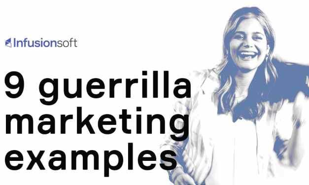 9 guerrilla marketing examples