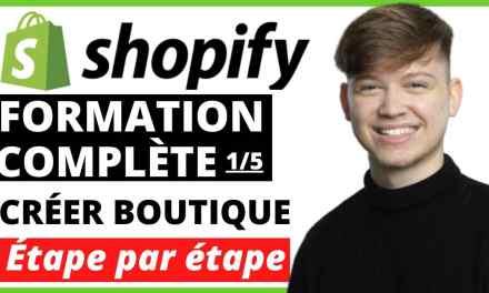 COMMENT CREER UNE BOUTIQUE SHOPIFY | JOUR 1 | Étape par étape | Formation Dropshipping Complète