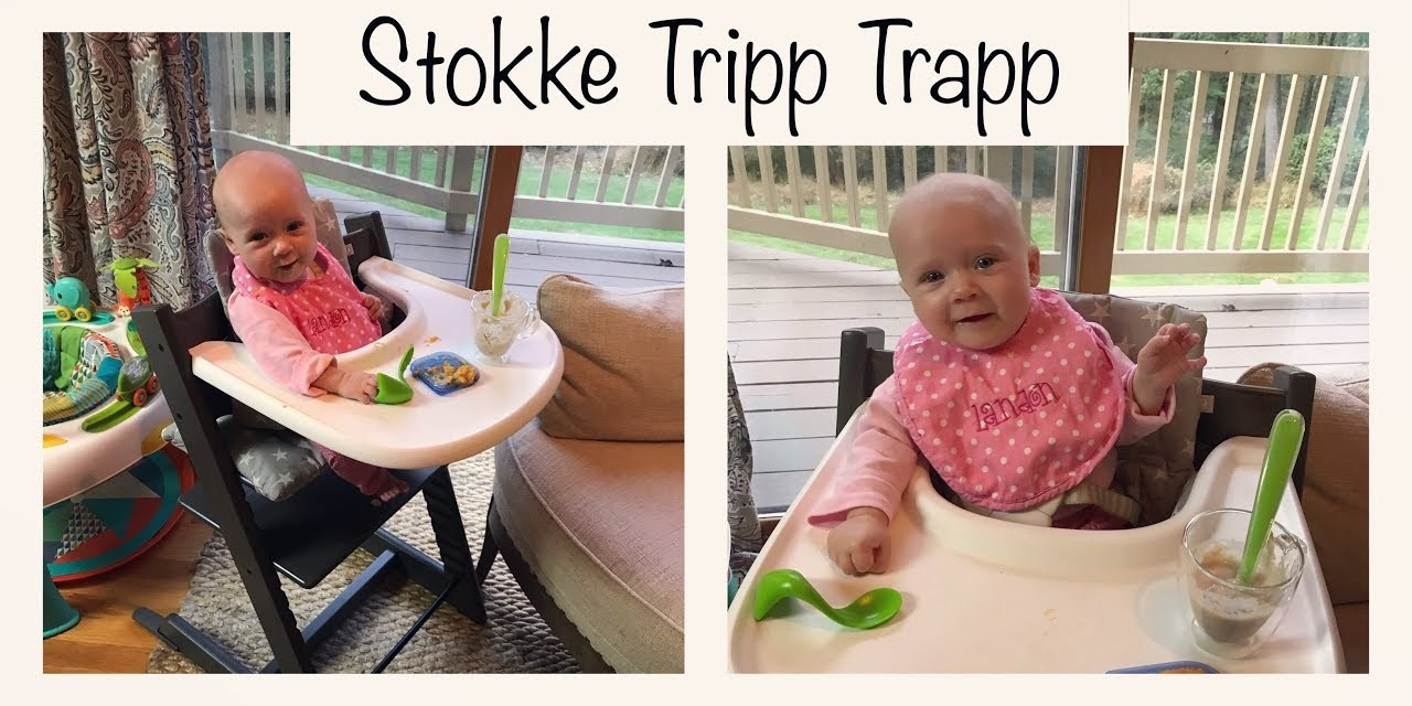 Stokke Tripp Trapp | 4 month Starts Solids | Tuesday Baby Product Reviews