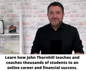 John Thornhill teaches and coaches