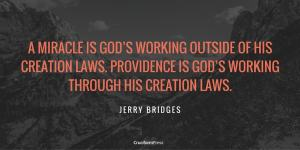 Providence and Miracles, by Jerry Bridges