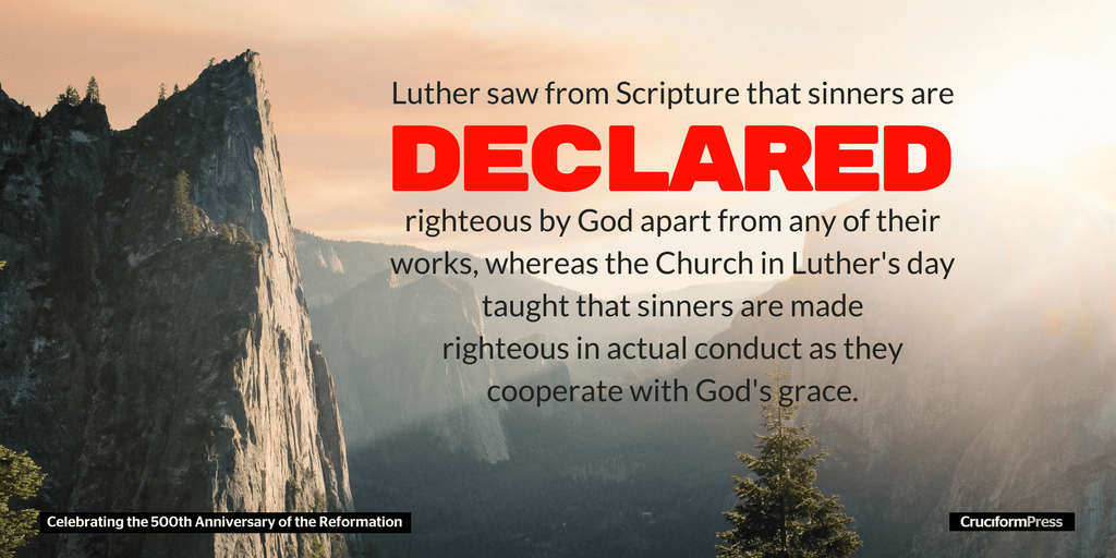 Luther: Justification by Faith Alone