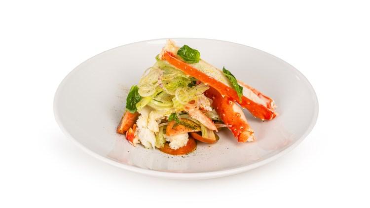 Catalana di King Crab la cucina di cruditè Milano ordina on line servizio delivery e smart catering