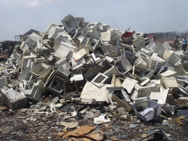 """E-waste landfill sites are the shame of the """"throw-away""""  economy."""