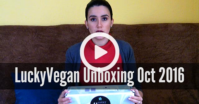 Lucky Vegan Box October 2016