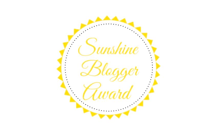 Sunshine Blogger Award logo