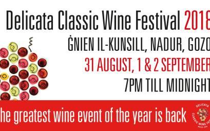 Delicata Classic Wine Festival 2018 at Nadur, Gozo