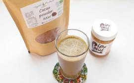 Cacao Banana Almond Breakfast Smoothie