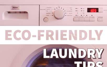 Eco-friendly laundry tips