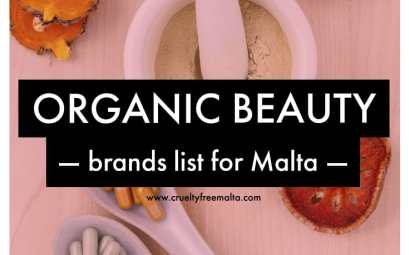 Organic beauty brands list for Malta