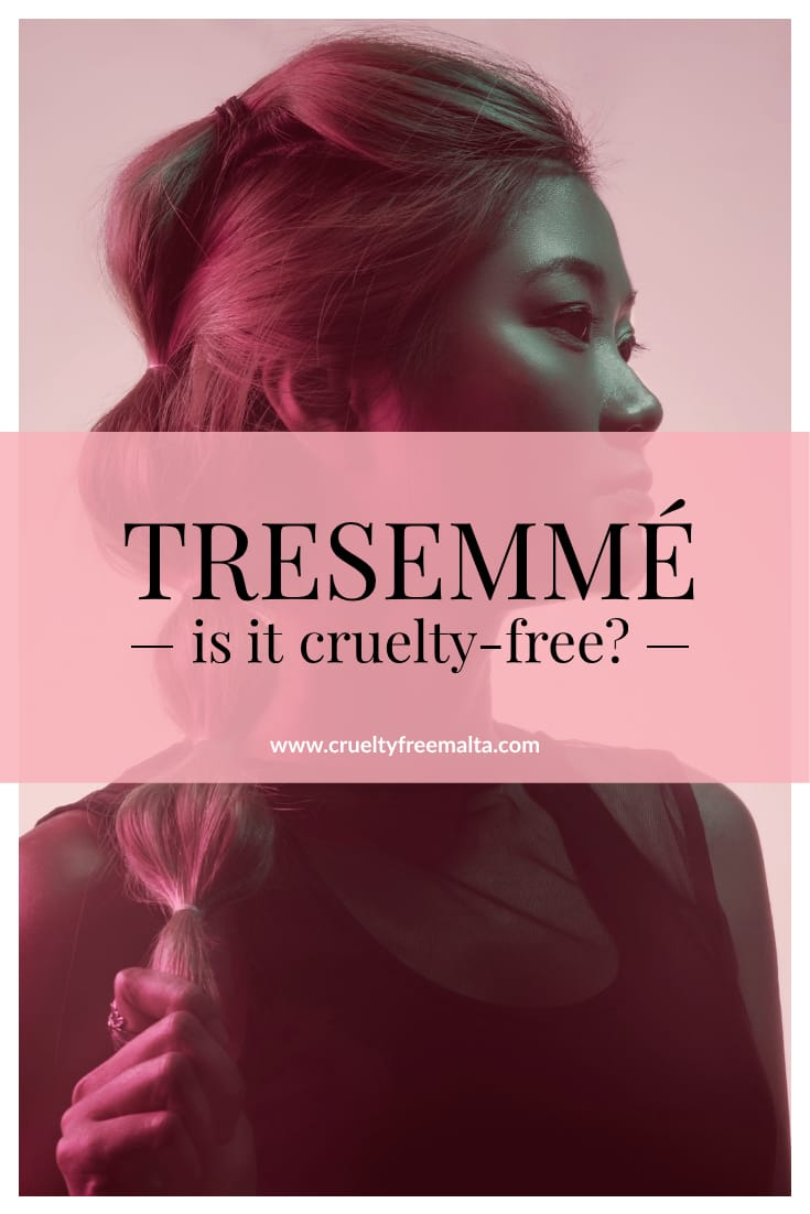 TRESemmé is it cruelty-free?