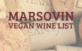 Marsovin Vegan Wine List