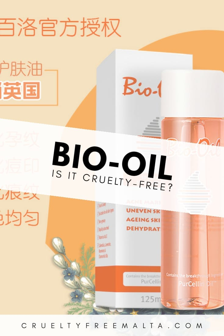 Is Bio-Oil cruelty-free?