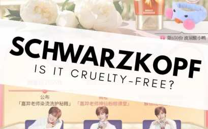 Is Schwarzkopf cruelty-free?