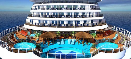 Aft View of Carnival Vista