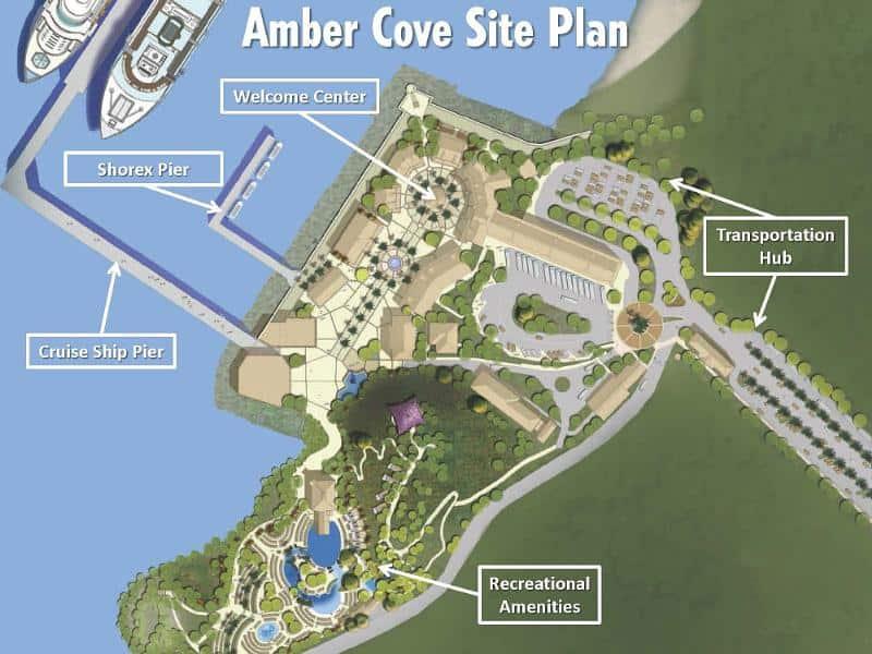 Carnival Corporation's Amber Cove Cruise Center in the Dominican Republic