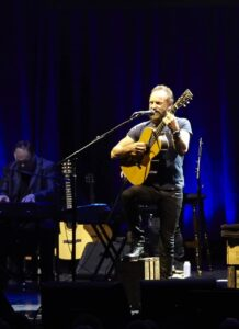 Sting with band at Sage Gateshead