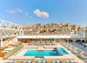 Viking Star's Pool with room open