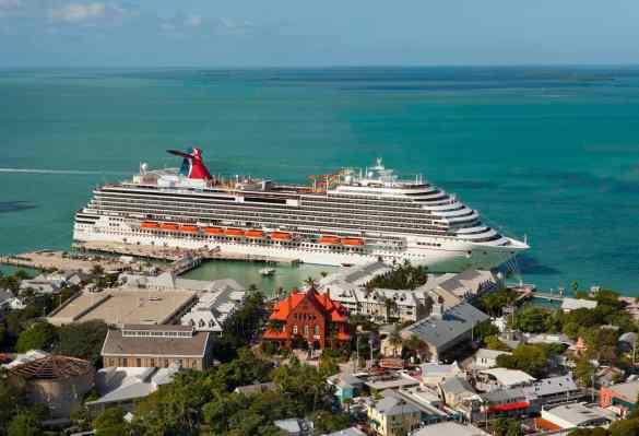 Carnival Magic Key West Florida