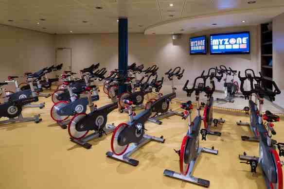 Ryde - Spin Class - Deck 6 Forward  Harmony of the Seas - Royal Caribbean International