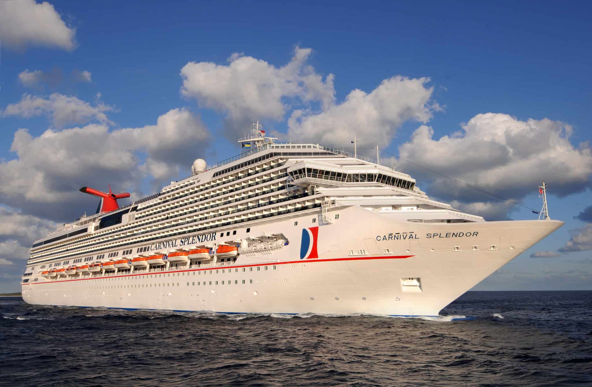 Carnival Splendor To Operate Day Alaska Cruise RoundTrip From - Long beach cruise ship schedule