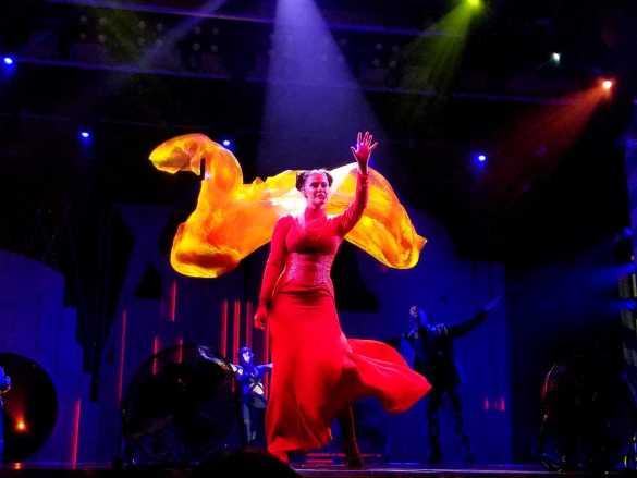 Flix, A Playlist Production aboard Carnival Liberty.