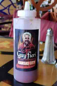 Guy Fieri Sauces at Ol' Fashioned BBQ aboard Carnival Cruise Line