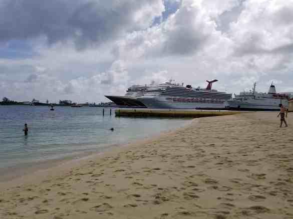 The Beach at the British Colonial Hilton - Nassau, Bahamas