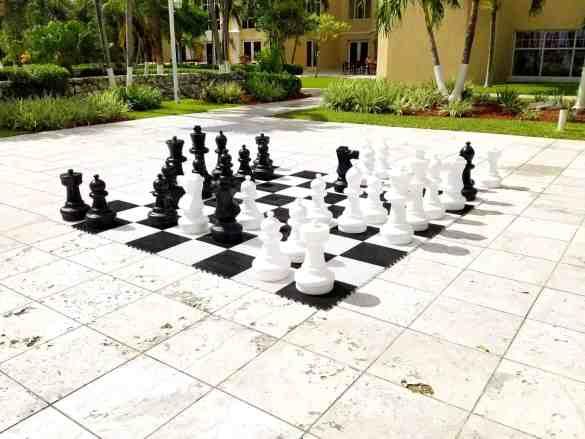 Chess Game at the British Colonial Hilton - Nassau, Bahamas