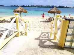 The Beach at the British Colonial Hilton - Nassau, Bahamas