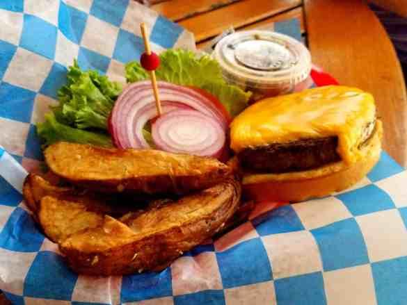 Steakburger Meal available at British Colonial Hilton - Nassau, Bahamas