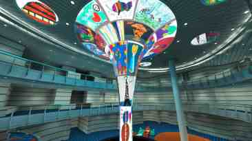 Carnival Horizon Dreamscape LED Atrium Sculpture to Feature Artwork Created by St. Jude Children's Research Hospital Patients